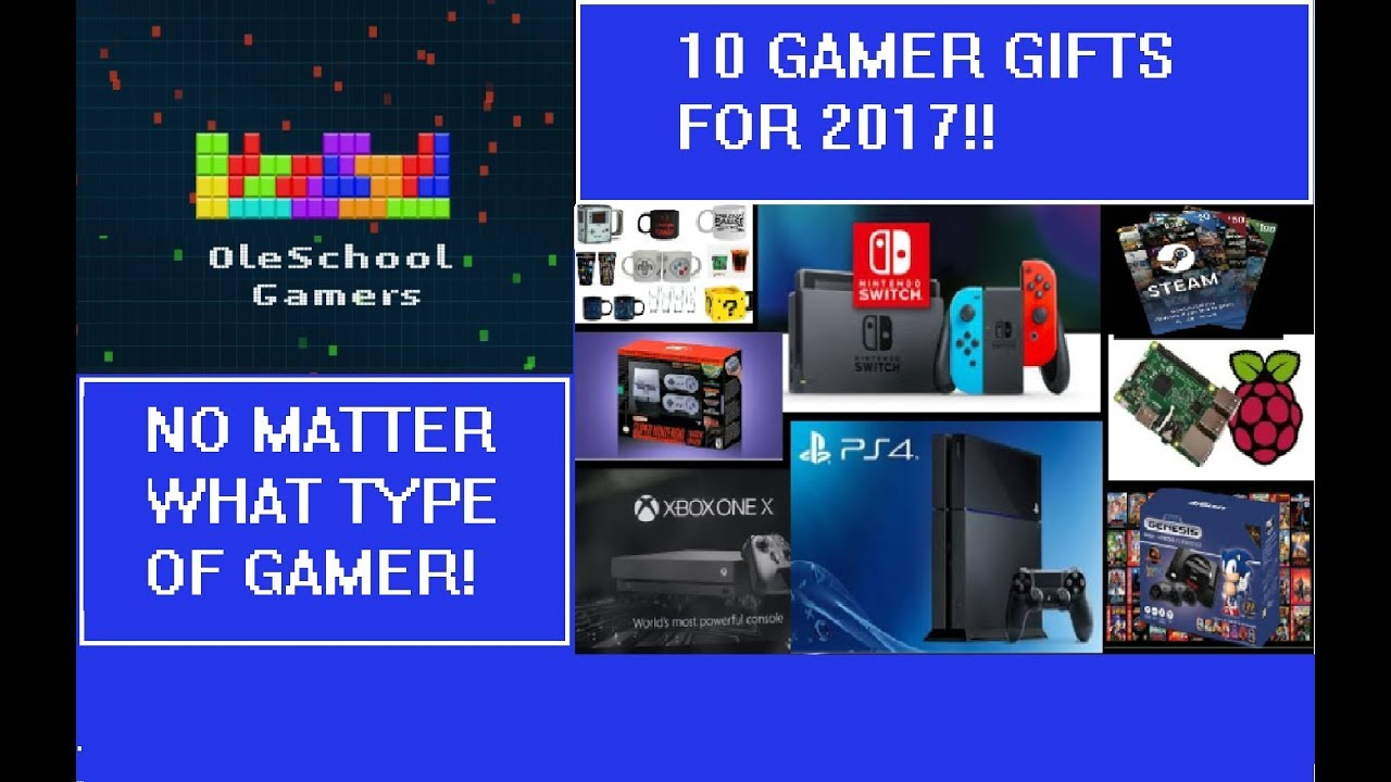 10 Best Gamer Gifts for this Christmas (2017) - YouTube