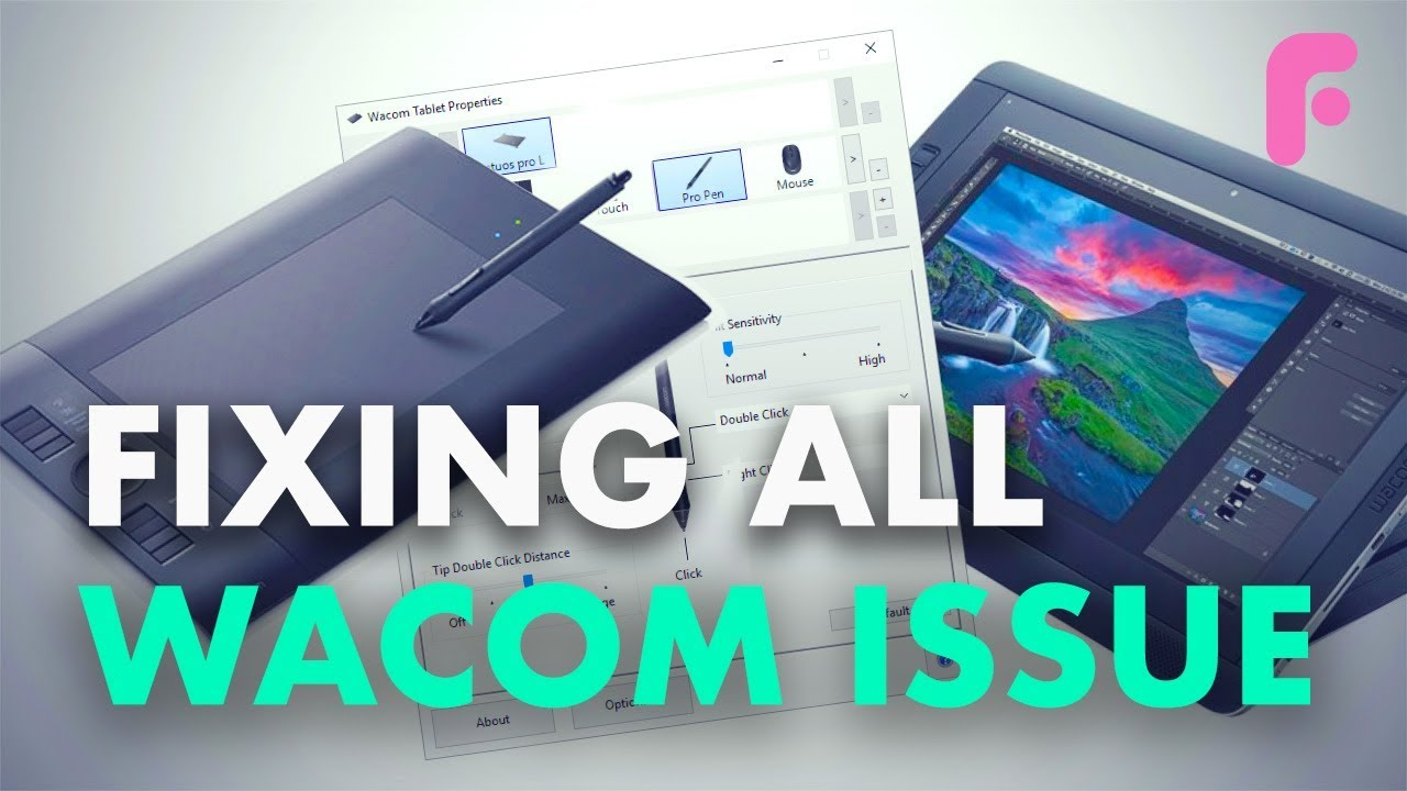 Fixing All Issues with Your Wacom Tablet and Photoshop