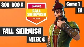 Fortnite Fall Skirmish Week 4 Game 1 EU Highlights (Group 1) - Big Bonus