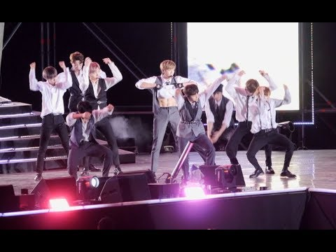 180909 워너원(Wanna One) Burn It Up (활활) [4K]직캠 Fancam (2018 대구로 k-pop festival) by Mera