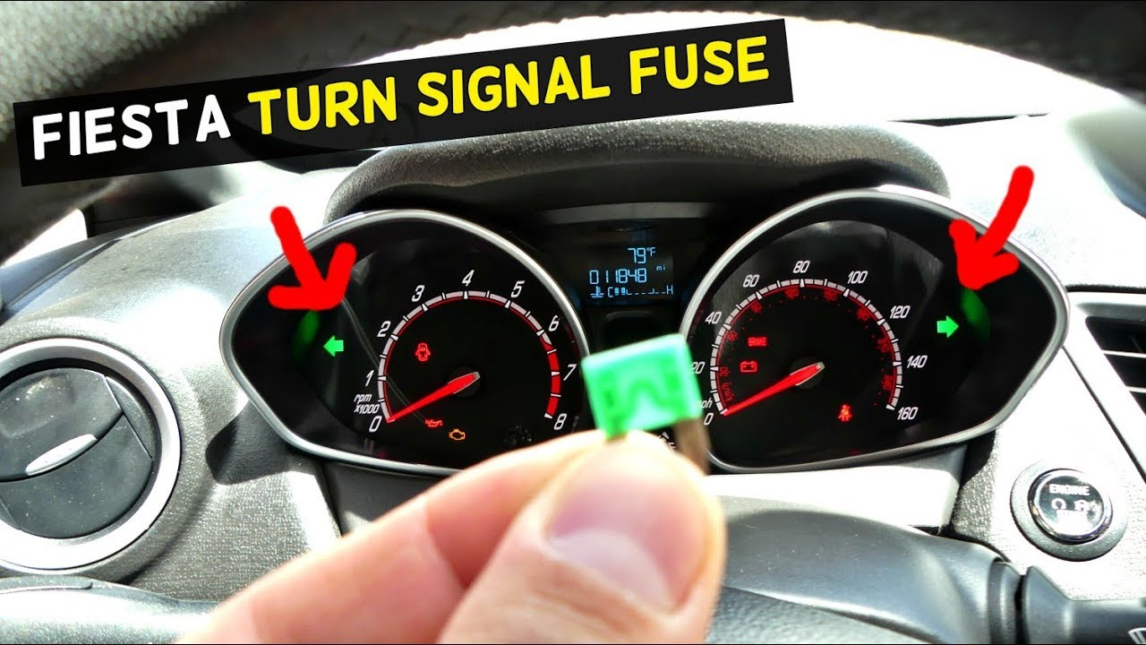 Ford Fiesta Turn Signal Fuse Location Replacement Mk7 St Youtube