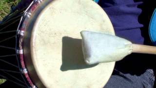 Shamanic Drumming for Trance Journey Work, Theta Brain Rhythm Training