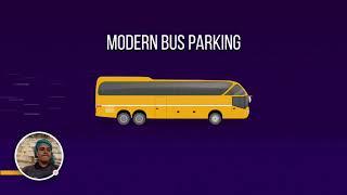 Pemanduan Bas Mod 3D Parking Permainan baru - 2020-10-07 screenshot 1