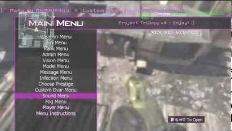 mw2  tu8  project trilogy v4 mod menu  download