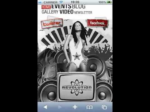 Revolution Nightclub Mobile Application (Version 2)