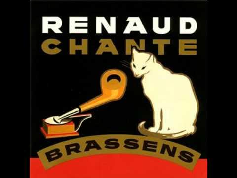 Renaud chante brassens les amoureux des bancs publics - Les amoureux des bancs publics paroles ...