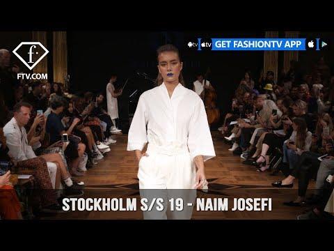 Stockholm Fashion Week S/S 19 - Naim Josefi | FashionTV | FTV