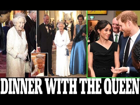 Meghan Markle was not allowed to attend dinner with the Queen when she held a farewell party.. Why?