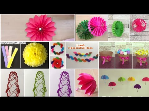 7 Best Birthday Decoration Ideas | DIY | Paper Craft | Party Decoration Ideas At Home