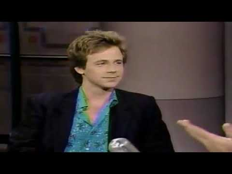 Dana Carvey with David Letterman in a funny old interview