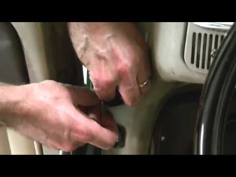 Replacing VW Beetle Door Weatherstrip
