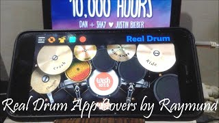 DAN + SHAY, JUSTIN BIEBER - 10,000 HOURS   Real Drum App Covers by Raymund