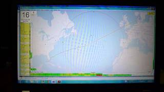 N1zzz/mm Robust Packet Aprs In The North Atlantic Ocean