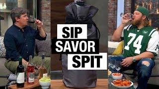 Sip, Savor, Spit with Nick Mangold | Bottle Service | Food & Wine