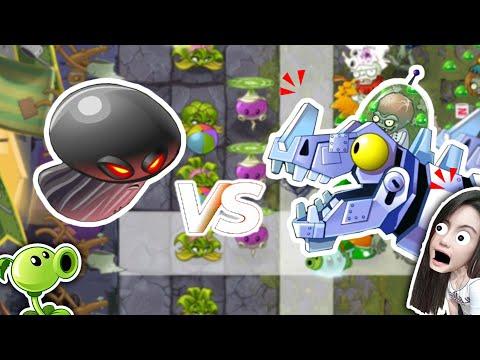 บอส ปะทะ หัวเห็ดดำ! Plant vs Zombie 2 | พี่เมย์ DevilMeiji