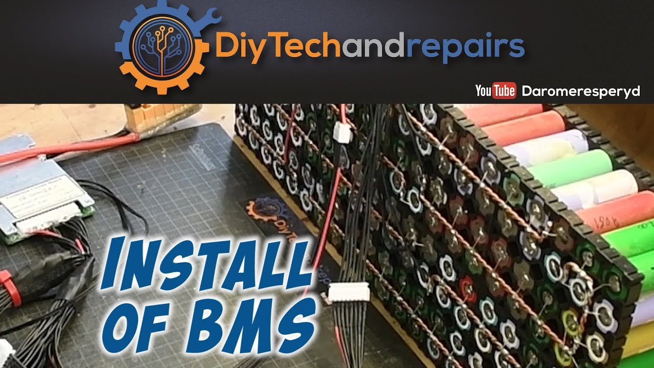 Installing a smart BMS on a 14s LiIon battery pack