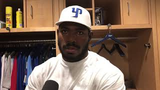 Yasiel Puig Postgame Interview after benches clear 8.14.18