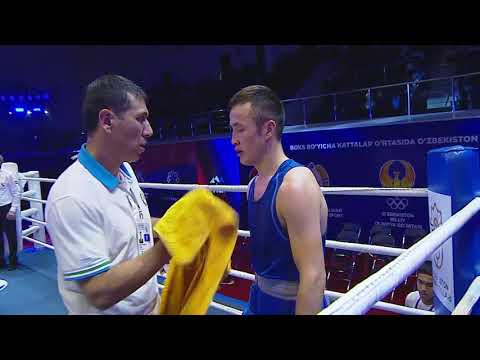 7 Абдулмалик Халаков   Джамболат Эрмаханов бой в категории 60 кг