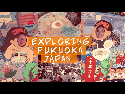Walking around Fukuoka | Travel Vloggers | Japan