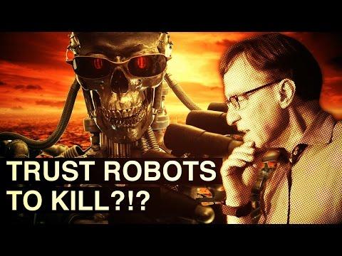 Trust Robots to Kill? | Ray Kurzweil Q & A | Singularity University