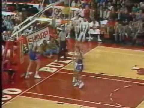 NBA - 1991/1992 season highlights [Bulls] (1/5) - polish commentary