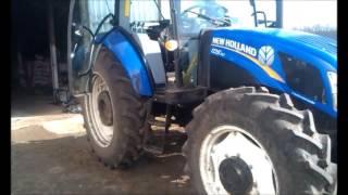 Перестановка для прополочных культур трактора New Holland TD5.110 & Case JX110