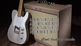 country backing track in A  Albert lee style  jam