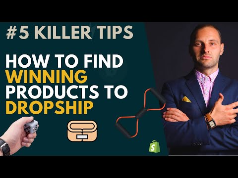 Essential Product Research Tutorial - How To Find Winning Products To Dropship [#5 Killer Tips] thumbnail