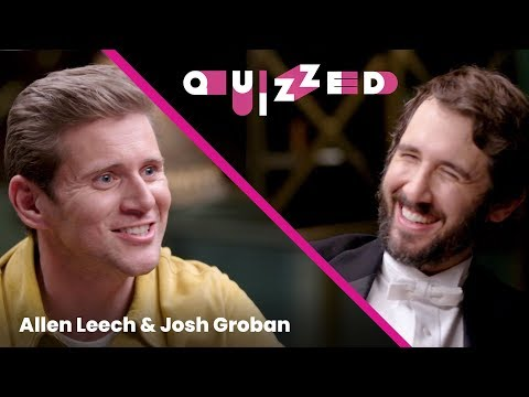 Josh Groban Gets 'Quizzed' By 'Downton Abbey' Star Allen Leech