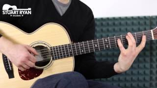 Fingerstyle Guitar - Stuart Ryan - Somewhere Over the Rainbow (Guitar Cover)