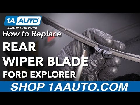 How to Replace Rear Wiper Blade 11-19 Ford Explorer