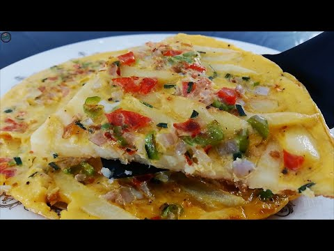 French Fries Omelette | Chips Mayai Recipe | Breakfast Recipes | Tasty Food Recipes