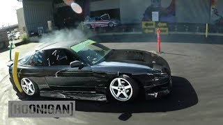 [HOONIGAN] DT 157: Offbeat Garage (S13 240sx) vs Keep Drifting Fun (S14 240sx) #CIRCLEJERKS