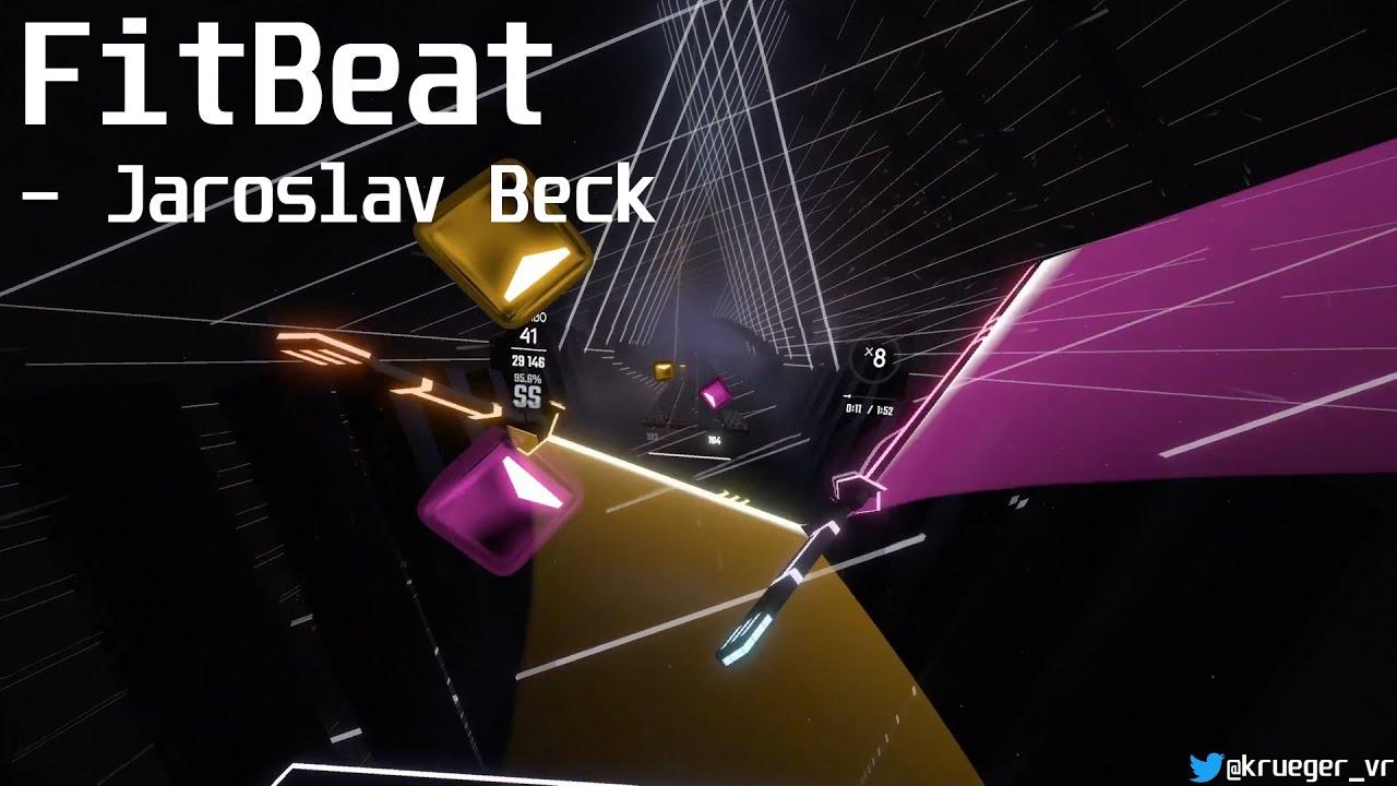 Download Beat Saber | FitBeat - Jaroslav Beck (Official Beat Saber Song) | Expert+ | SS Rank | Full Combo