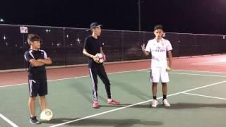 Fut Tennis/Soccer Tennis Challenge!
