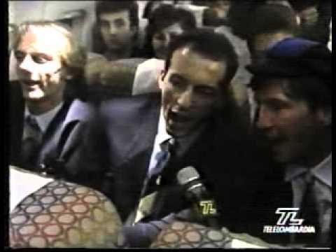 Speciale finale ritorno Roma-Inter Coppa Uefa 1990/91 Telelombardia