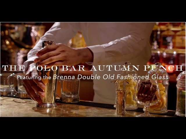 Ralph Lauren | The Autumn Punch Cocktail