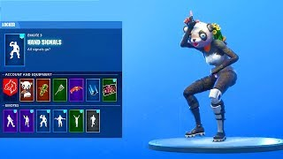 *LEAKED* (UPDATED) TAKE THE L Hand Signals Emote with NEW SKINS (Fortnite Battle Royale)