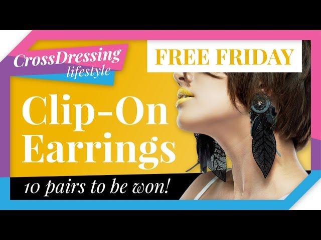 Clip-on Earrings   Crossdressing   FREE Friday