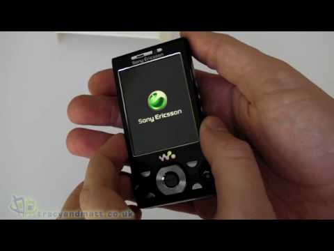 Sony Ericsson W995 unboxing video