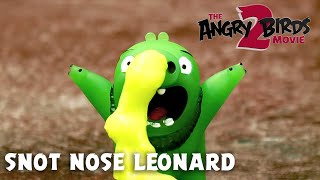 Snot Nose Leonard | The Angry Birds Movie 2 Toy Unboxing!