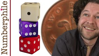 Stacked Dice Trick - Numberphile