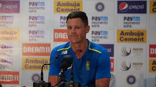 Sharma and Rahane continue to call tune for India