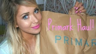 Primark Haul August 2013 | Away with the Fairies Thumbnail