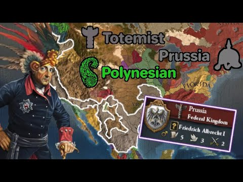 I have gone INSANE while playing EU4! [TOTEMIST POLYNESIAN PRUSSIA] |