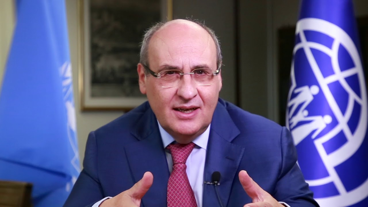 Message of Director General António Vitorino to IOM Staff - YouTube