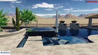 Cave Creek Custom Pool and Spa By Trevor Brents
