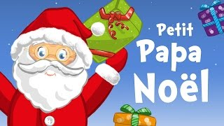 Little Santa Claus in French (Petit Papa Noël) - Christmas song for kids with lyrics !