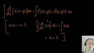 Partiel integration - udledning af formlen