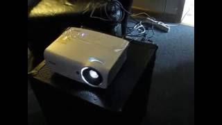 vivitek DH559 projector demo